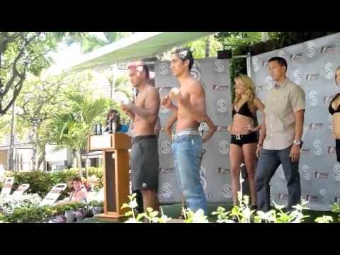 ProElite Weigh-Ins Andrei The Pit Bull Arlovski vs Ray Lopez