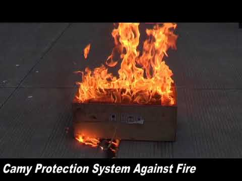 Camy Protection System Against Fire