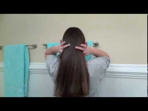 how to style straightened hair easy how to cut your own hair across 6096