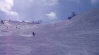 スキーボード 超高速ノーズマニュアル ファンスキー skiboard thumbnail