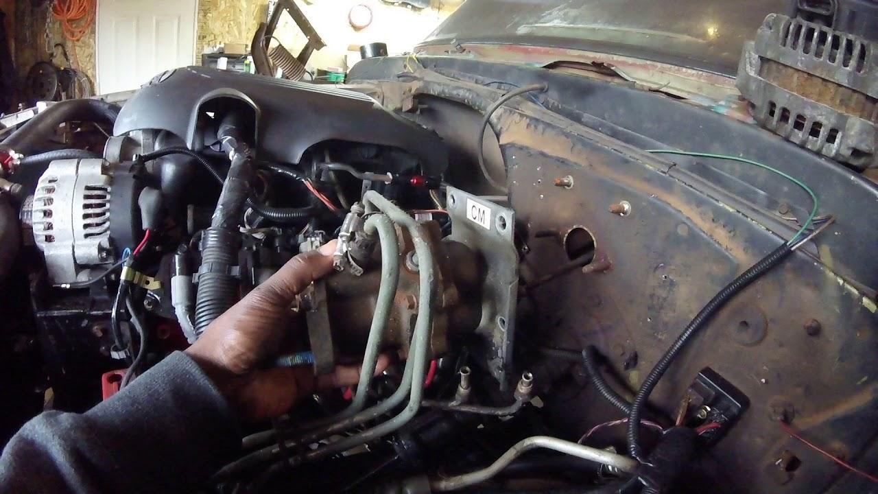 1970 C10 hydroboost conversion pt #1