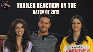The First Report Card | Student Of The Year 2 | Trailer Reaction | Tiger, Tara & Ananya