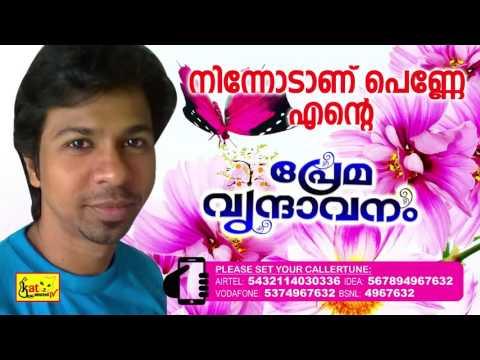 Super Hit Romantic Album  | നിന്നോടാണ് പെണ്ണെ എൻ്റെ | Premavrindavanam |  Malayalam Album | Rameez