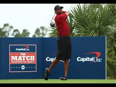 Tiger Woods' Best Shots At Capital One's The Match | Highlights