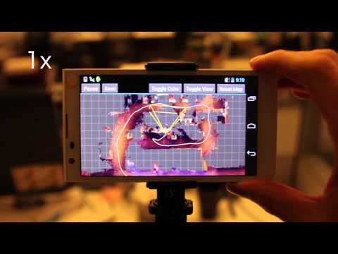Project Tango - real-time 3D reconstruction on mobile phone