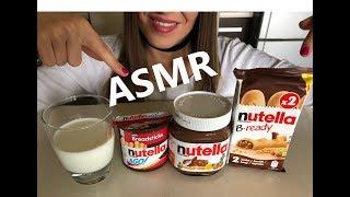 ASMR Nutella 🌰 | Crunchy Eating Sounds * Mukbang