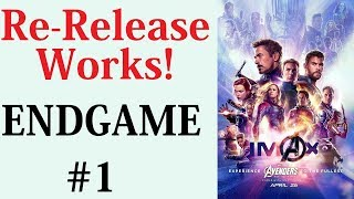 Endgame Re-Release Worked. Officially It Now Has A Larger World Box Office Than Avatar