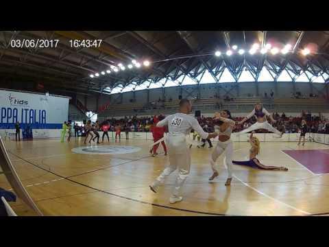 COPPA ITALIA FIDS MARCHE OSIMO 2017 28/34 A1 DANZE CARAIBICHE