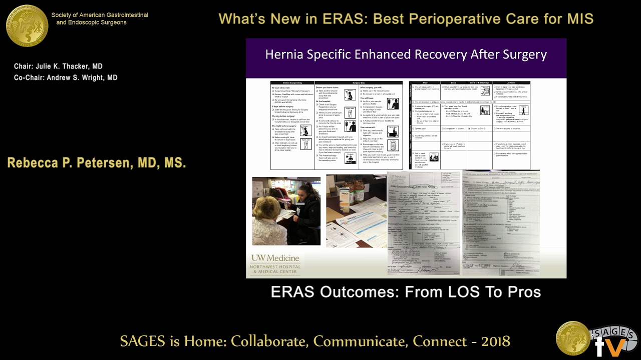 Enhanced recovery after surgery outcomes: From LOS to PROs from the