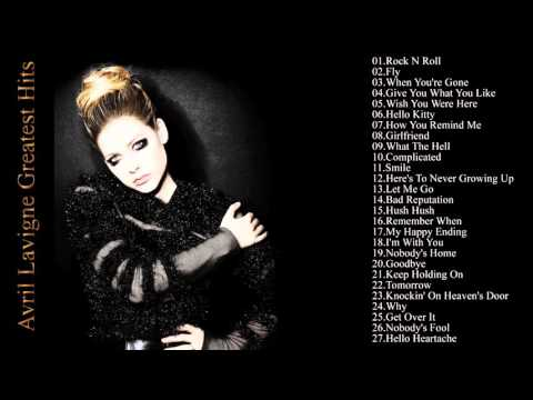 Avril Lavigne 's Greatest Hits || Avril Lavigne Best Song 2016
