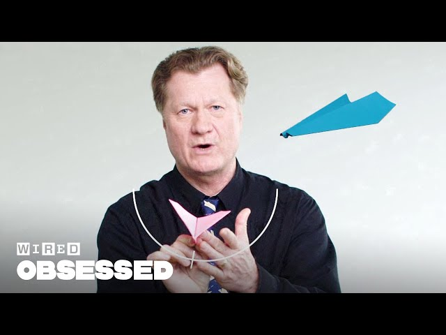 How This Guy Folds and Flies World Record Paper Airplanes   WIRED