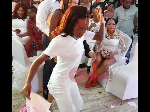 """Download Mercy Aigbe's Daughter Dance """"Shaku Shaku""""As Big Men Sprays Her Money At Her Mum's 40th Birthday"""