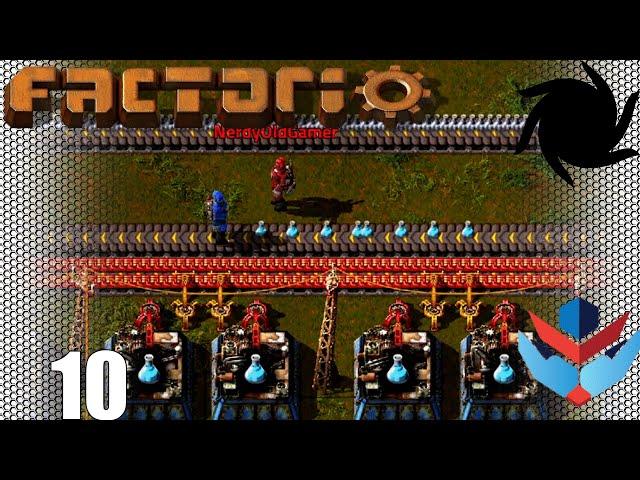 Factorio 1.0 Multiplayer 1K SPM Challenge - 10 - Blue Science