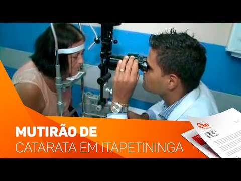 Mutirão da catarata em Itapetininga - TV SOROCABA/SBT