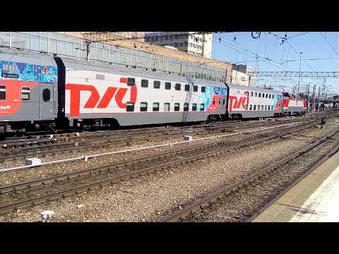 104в адлер москва двухэтажный поезд фото