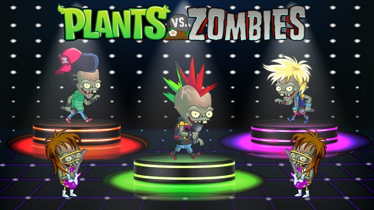 Plants vs Zombies Animation Halloween: Music Festival 2020