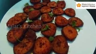 vazhakkai varuval Recipe in tamil// How to make Raw banana fry?