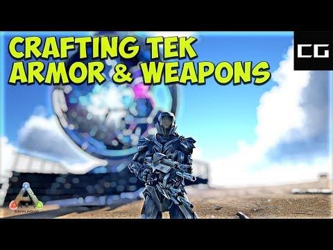 Ark Survival Crafting The Tek Armor