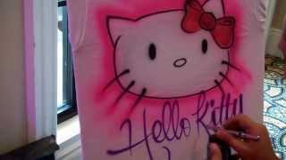 Hello Kitty Bar Mitzvah shirt