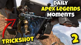 TRICKSHOT WITH GOLD SNIPER ~ Daily Apex Legends Moments #2 / Funny Epic WTF Apex Legends Moments