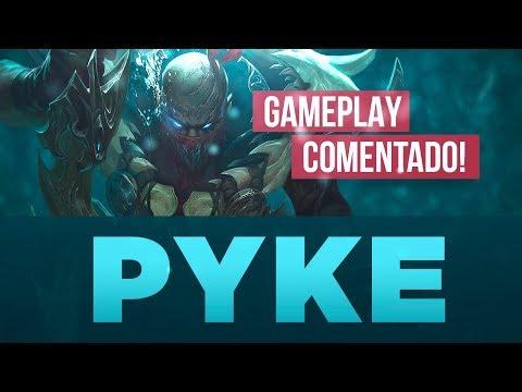 USANDO A VANTAGEM PARA VENCER (GAMEPLAY COMENTADO: PYKE)