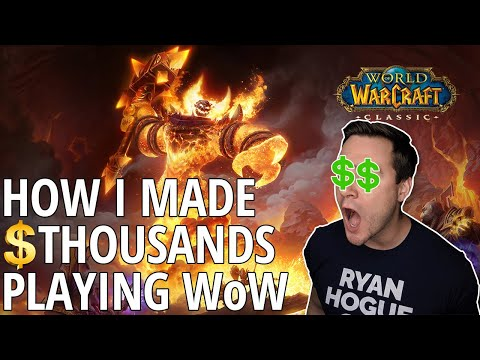 How I Made Thousands Of Dollars Playing World Of Warcraft