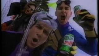 1994 Exteme Mt. Dew TV commercial