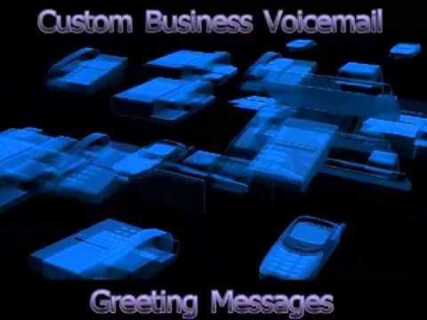 Professional voice mail greetings youtube professional voice mail greetings m4hsunfo