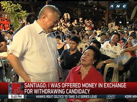 Santiago to focus on agriculture if elected