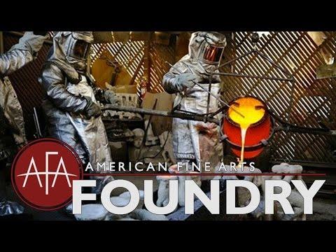 Tour of American Fine Arts Foundry in Burbank, CA