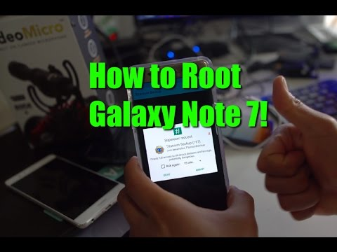 How to Root Galaxy Note 7! [Exynos]