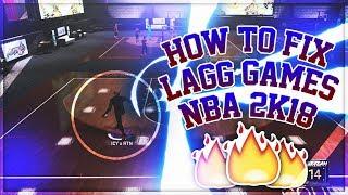 NBA 2K18 - HOW TO FIX LAGG!!!