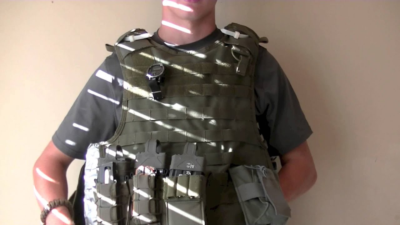 How To Take Your Plate Carrier On And Off
