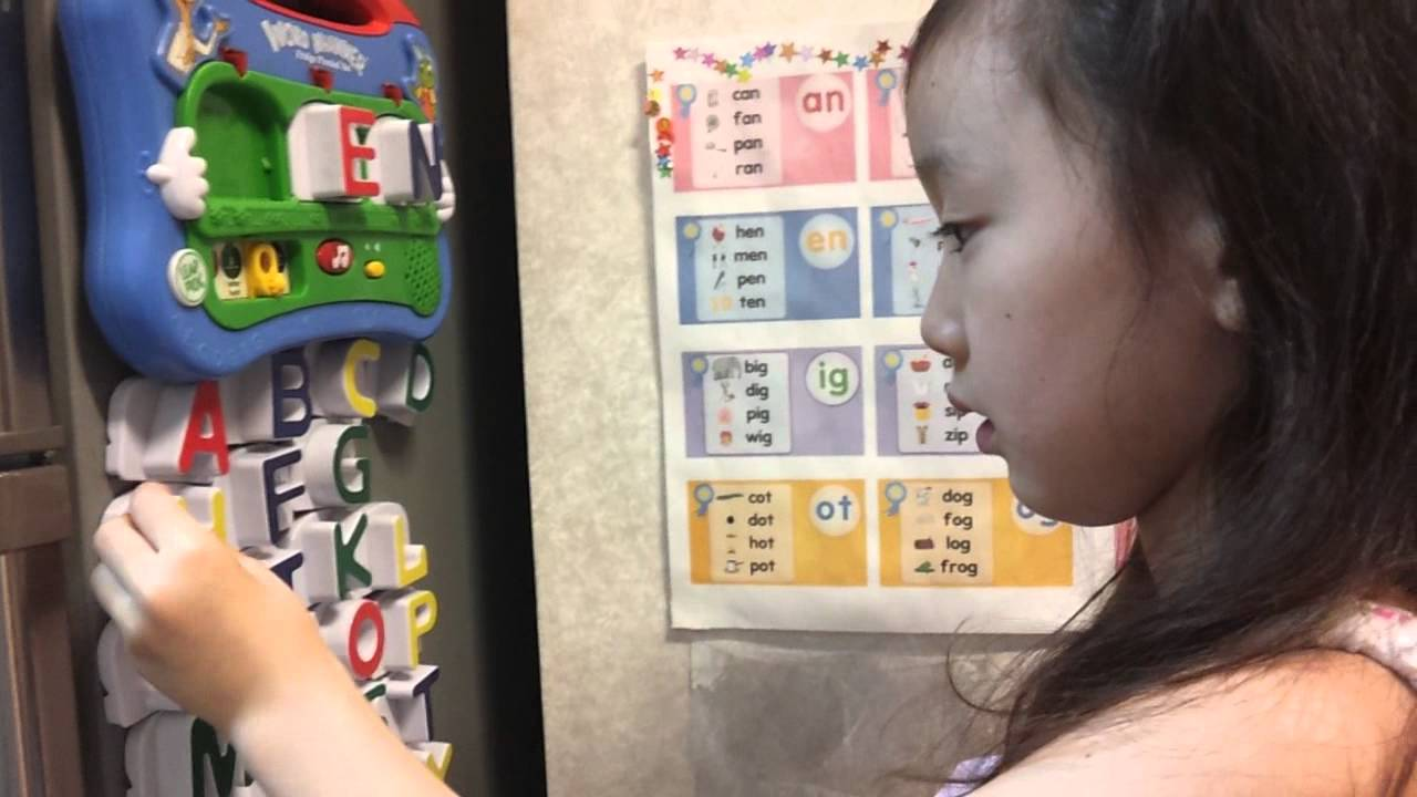 Learning 3 Letter Words With Leapfrog Word Whammer3