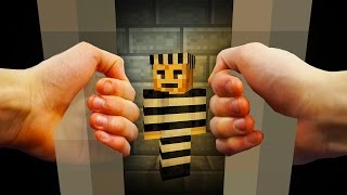 REALISTIC MINECRAFT - STEVE GETS ARRESTED!
