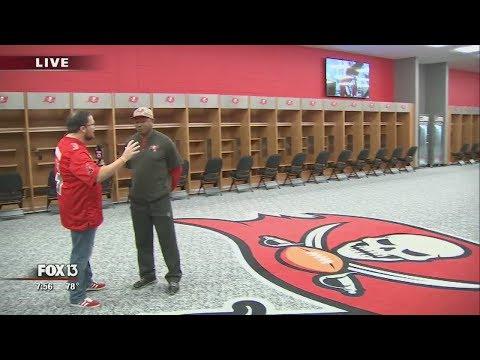 Inside the Tampa Bay Buccaneers' new locker room