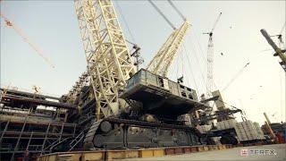 Video still for Terex CC8800-1 TWIN Qatar jobstory