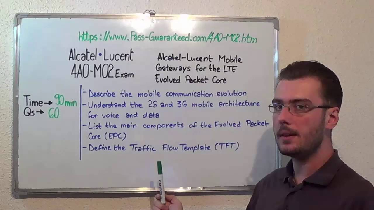 Alcatel-Lucent Mobile Gateways for the LTE Evolved Packet Core Test 4A0-M02 Exam
