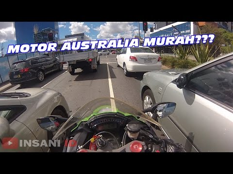 #11 | Kenapa Motor Australia Murah, MAKAN MAKANAN INDO di Brisbane #motovlogindonesia