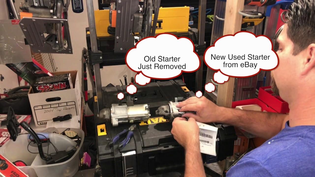 2013-17 Honda Accord Starter Replacement 2 4 I4