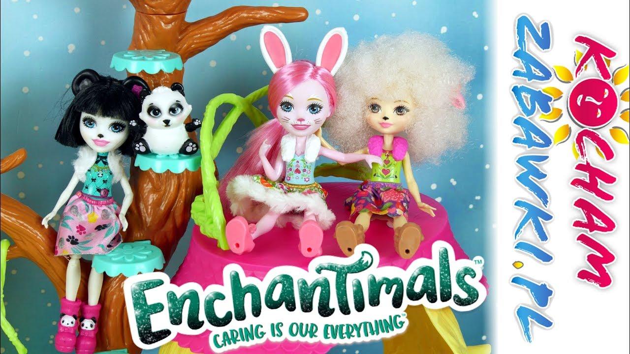 Enchantimals • Leśny Domek • Mattel • Openbox
