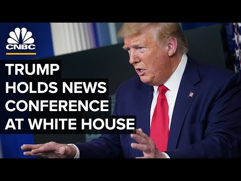 President Trump holds news conference as coronavirus cases c