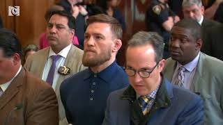McGregor appears in court on assault charges