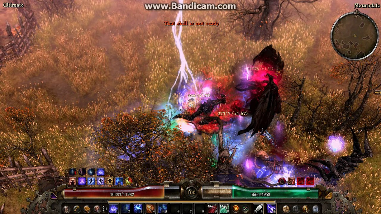 [Pure Caster] Grim Dawn AoM Lightning Obliteration Vindicator