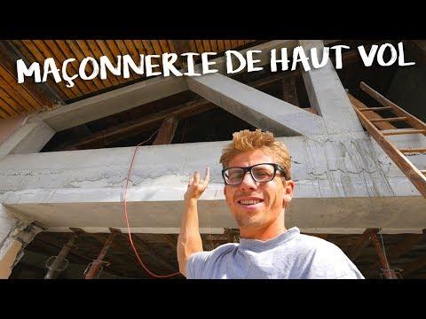 MAÇONNERIE DE HAUT VOL - Passion Rénovation Ep5 - construction maison travaux