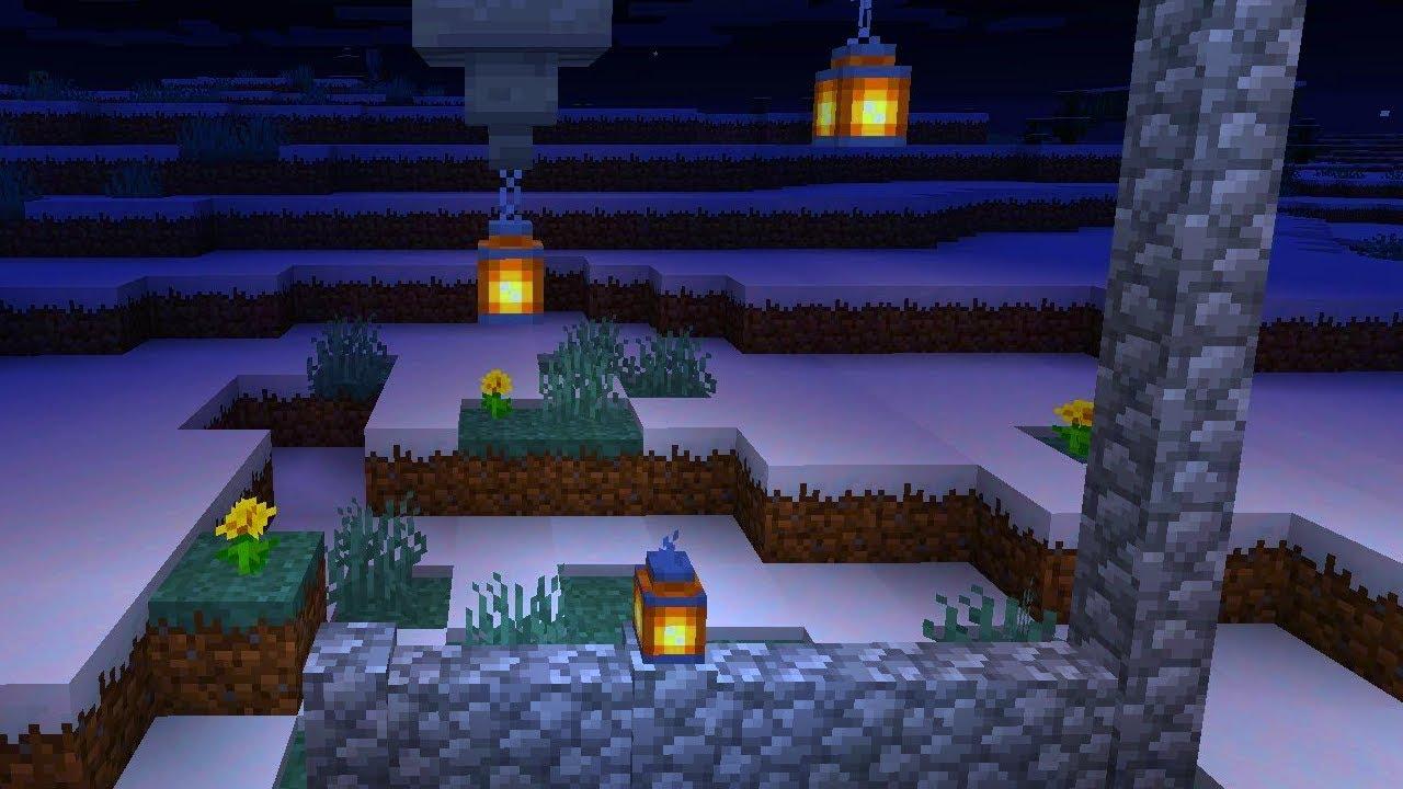 Latarnie Nowe Zrodlo Swiatla W Minecraft 1 14 Nowinki Youtube