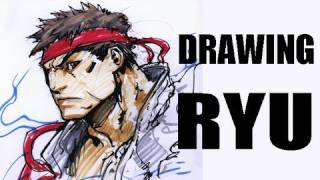 Drawing Ryu (with Long Vo)