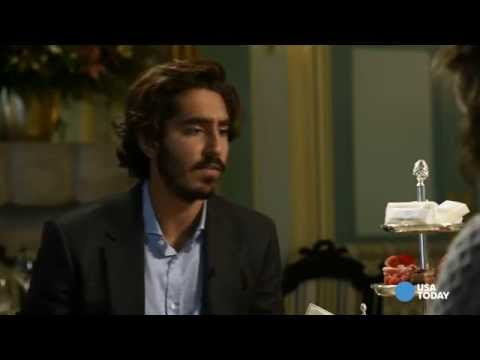 Dev Patel likes his tea and ... chippies?