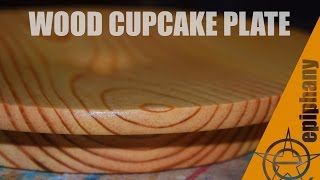 DIY Wood Cake Stand - Maker Music Contest