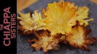 Dried Pineapple Flowers   Chiappa Sisters